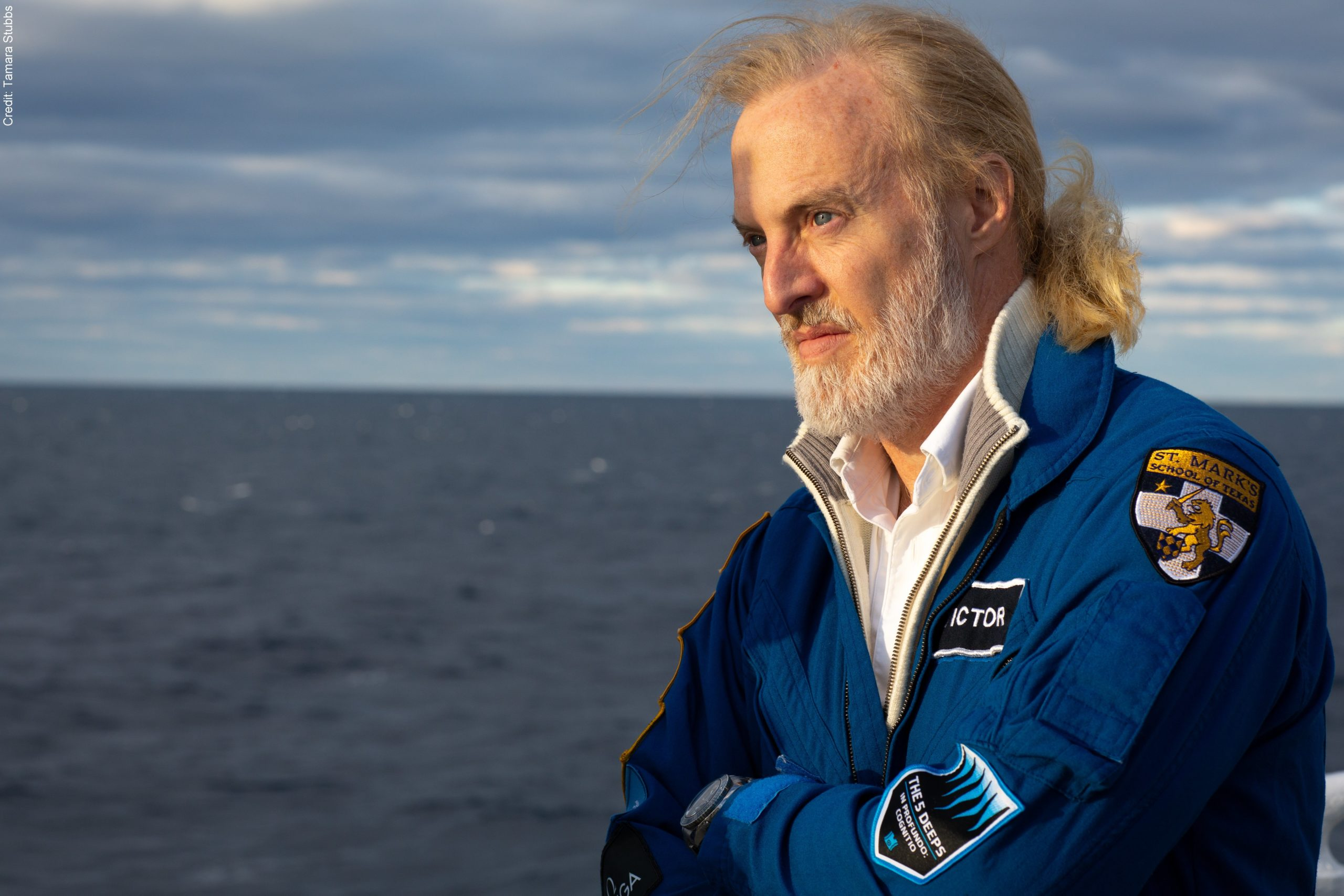 Headshot photograph of Victor Vescovo of Caladan Oceanic